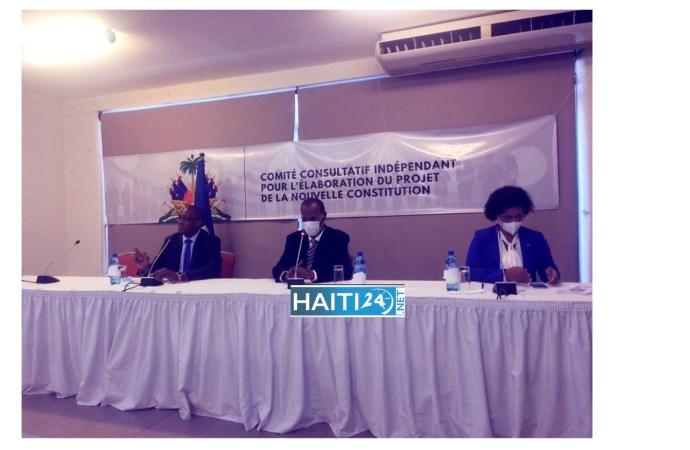Le comité consultatif indépendant rend public son avant-projet de la nouvelle Constitution
