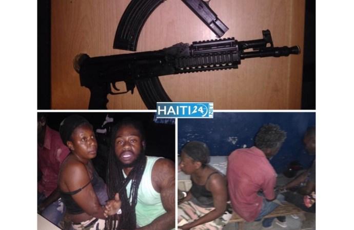 Sécurité : 4 individus arrêtés à Mirebalais lors d'une opération policière