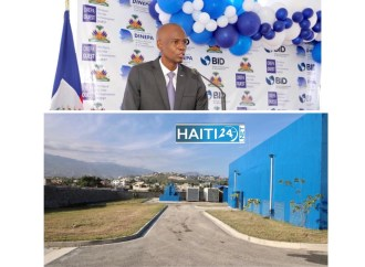 Jovenel Moïse inaugure le Projet de Renforcement de la Production d'Eau Potable dans la Région Métropolitaine