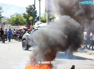 Violente journée de manifestation antigouvernementale pour exiger le respect du 7 février 2021