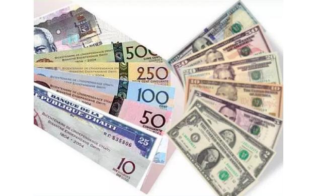 BRH-Taux de référence : 72,81 gourdes pour un dollar US