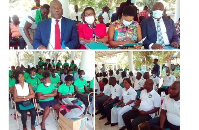 Lancement officiel du parti politique PLANSPA à Jacmel