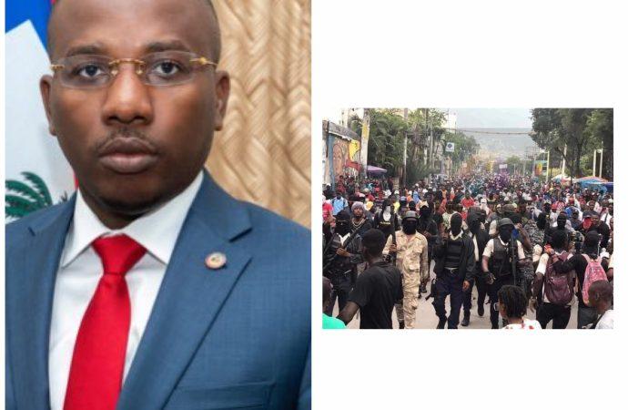 Fantom 509-Violences : Claude Joseph rassure représentants des missions diplomatiques et organisations internationales