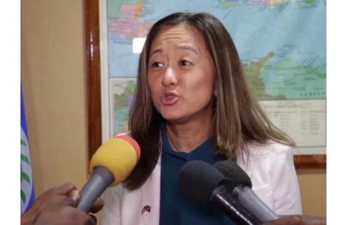 Crise politique : L'assistante du secrétaire d'État américain, Julie Chung, appelle au dialogue
