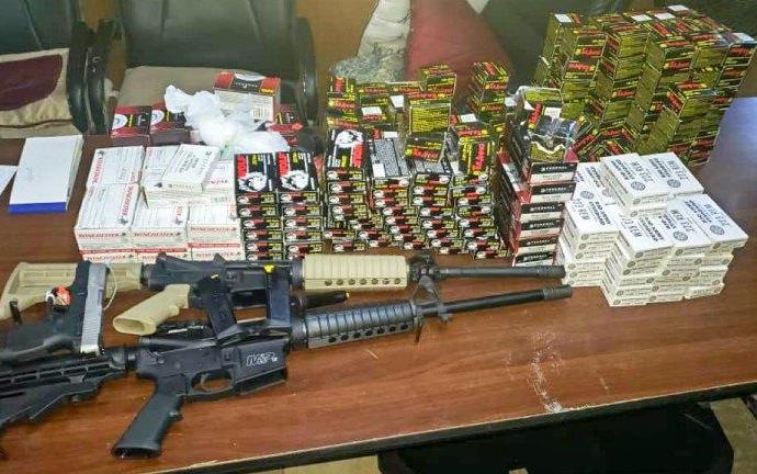Nord : Trois armes à feu, 7850 cartouches saisies par la BLTS, la DCPJ et l'APN dans un conteneur