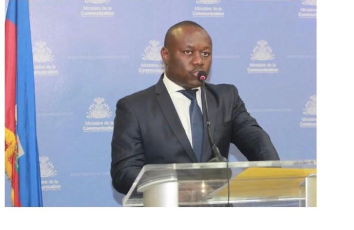 « Le gouvernement en place ne fait que liquider les affaires courantes », précise Frantz Exantus
