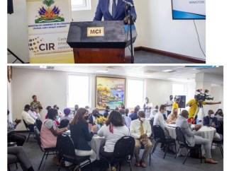 Le Ministère du Commerce et de l'Industrie veut relancer l'économie haïtienne