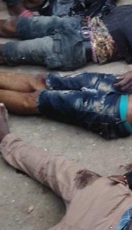 Port-de-paix : 3 présumés bandits notoires tués par la police