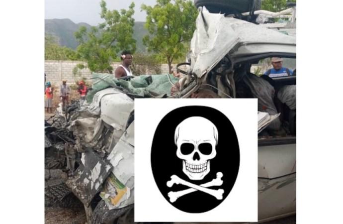 update -21 morts, une trentaine de blessés dans un accident de circulation survenue sur la route nationale #1