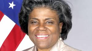 L'ambassadrice des États-Unis Linda Thomas-Greenfield invite Jovenel Moïse à organiser des élections transparentes