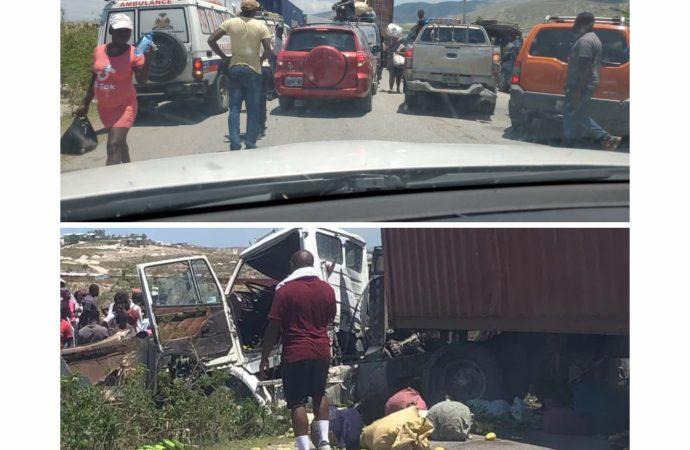 Accident de la circulation sur la nationale # 1 : deux morts, plusieurs blessés