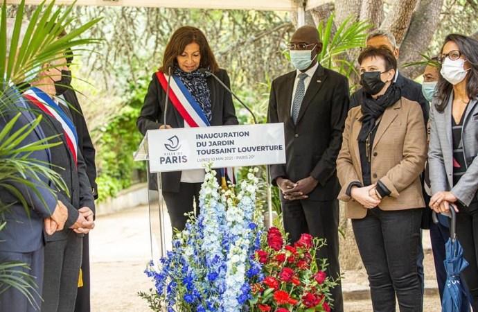 Un jardin au nom du Général Toussaint Louverture inauguré en plein cœur de Paris