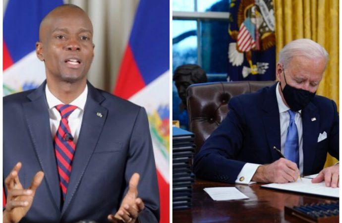 TPS : Jovenel Moïse salue la prolongation accordée par Joe Biden à Haïti