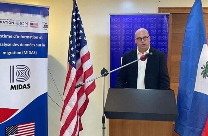 Inauguration d'un système d'information et d'analyse de données par l'OIM en Haïti