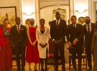 Rose Lumane Saint-Jean honorée par l'ambassade d'Haïti en France