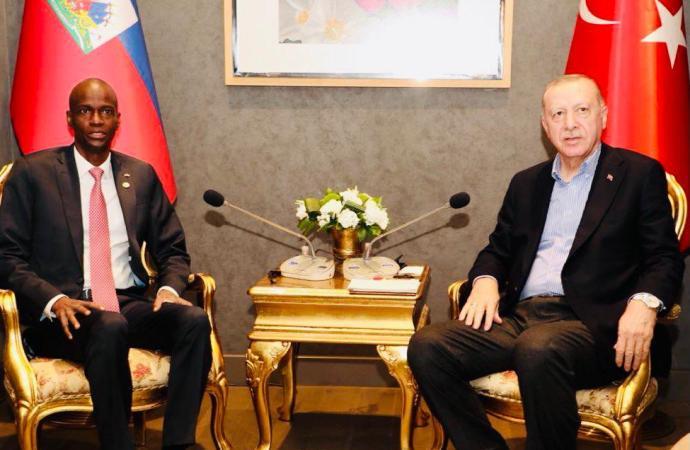 Forum d'Antalya : Jovenel Moïse et son homologue turc ont exploré les nouveaux horizons de la diplomatie