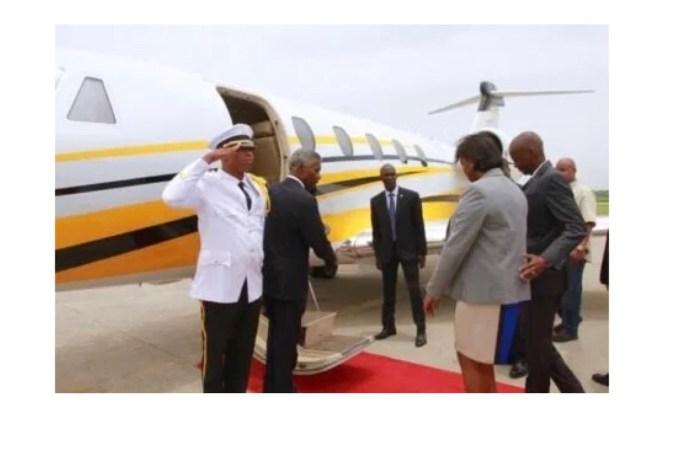 Haïti : Le couple présidentiel en voyage officiel en Turquie