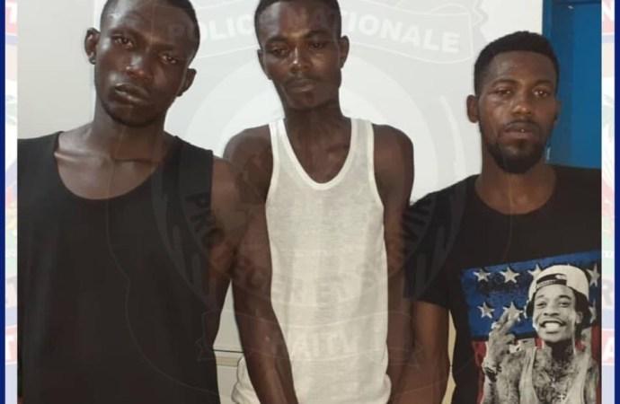 Un membre du gang «Nan Remi» et deux autres individus arrêtés à Belladère