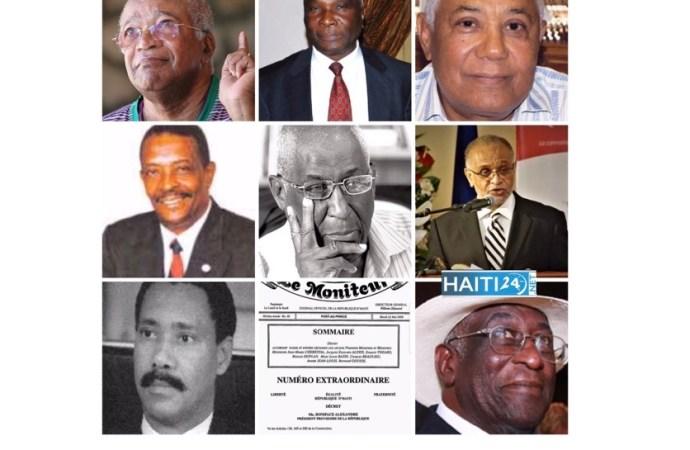Décharge accordée aux anciens Premiers ministres et ministres : Jovenel Moïse sur les pas de Boniface Alexandre