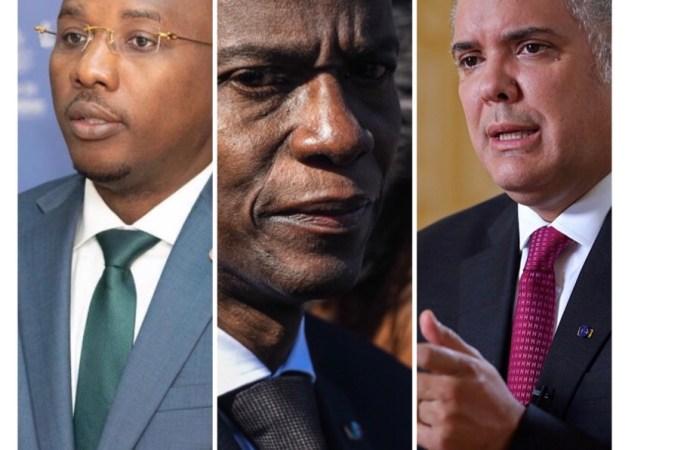 Enquête sur l'assassinat de Jovenel Moïse : le président colombien promet sa collaboration à Claude Joseph