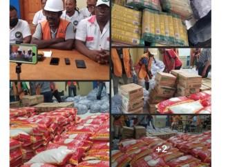 Sud-est : le Parti PLANSPA vient en aide aux victimes de la tempête Grace à Marigot