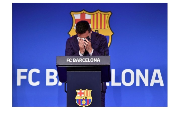 Sport: Léonel Messi fait ses adieux au Camp Nou, apporte des précisions autour de son départ