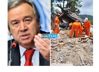 Haïti-Séisme: L'ONU témoigne sa solidarité au peuple haïtien
