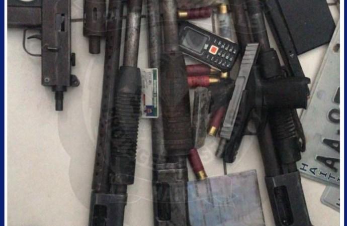 Croix-des-Bouquets-PNH : 3 présumés bandits appréhendés, des armes à feu et des munitions saisies
