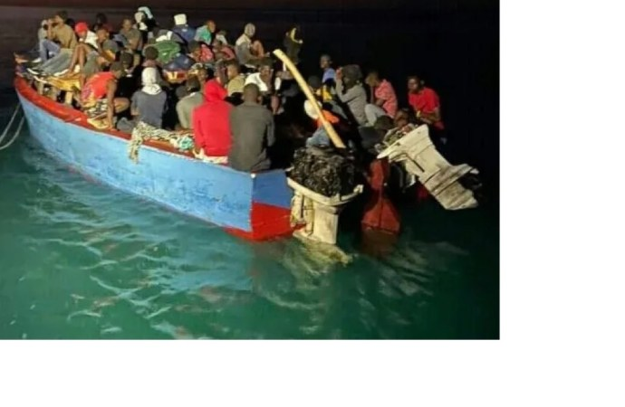 Des voyageurs clandestins haïtiens arrêtés par la marine dominicaine