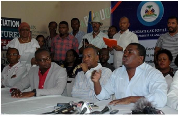 « Des membres du secteur démocratique et populaire ont reçu jusqu'à 200 mille USD de Jovenel Moïse », révèle Rony Timothé