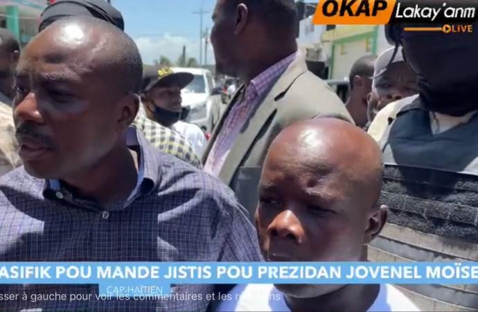 Assassinat de Jovenel Moïse : un mois après, Cap-Haïtien continue de réclamer justice