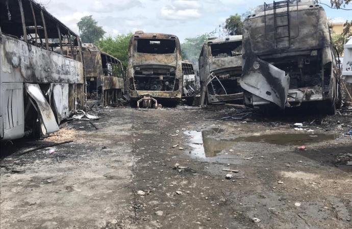 Victime d'un incendie, « Le Transporteur » réduit ses activités pendant plusieurs semaines