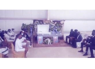Funérailles de Adela Guerrier, la mère du journaliste Guerrier Dieusel