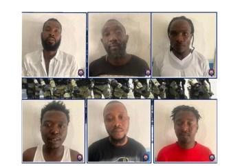 """Insécurité : Arrestation de 6 individus identifiés comme faisant partie du groupe gang """"400 mawozo"""""""