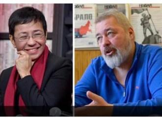 Le Prix Nobel de la paix 2021 remporté par les journalistes Dmitri Mouratov et Maria Ressa