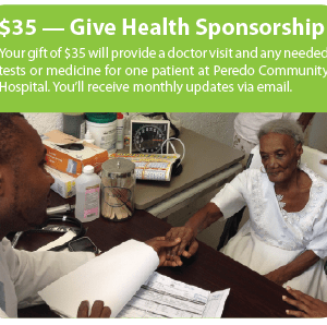 Give Health Sponsorship