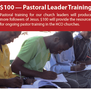 Pastor Leader Training