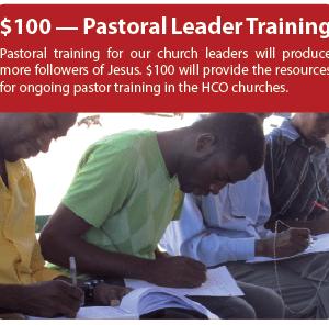 Pastor Leader Training