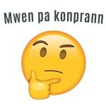 Mwen pa konprann - i don't understand - Haitian Creole