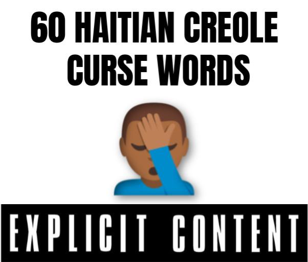 Haitian Creole Curse Words