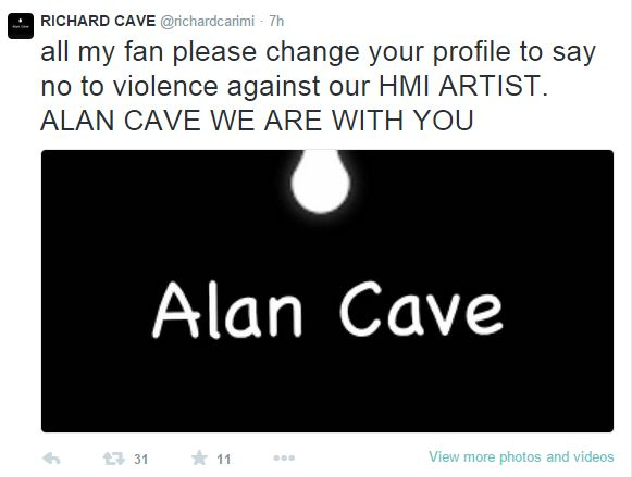 Alan Cave Assaulted After Atlanta Performance, Cousin Richard Cave Comments