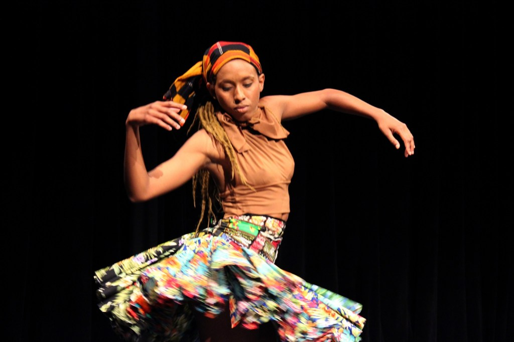 Haitian American Performs Solo Dance At First Dance Caribbean COLLECTIVE