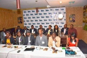 Members of NYHPC seated during the press conference held in Tonel Restaurant on October 11, 2015.