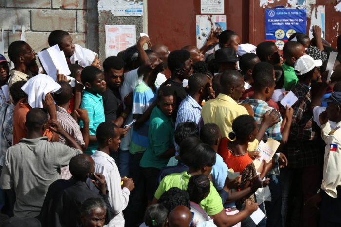 Disorder Amid Haiti Elections