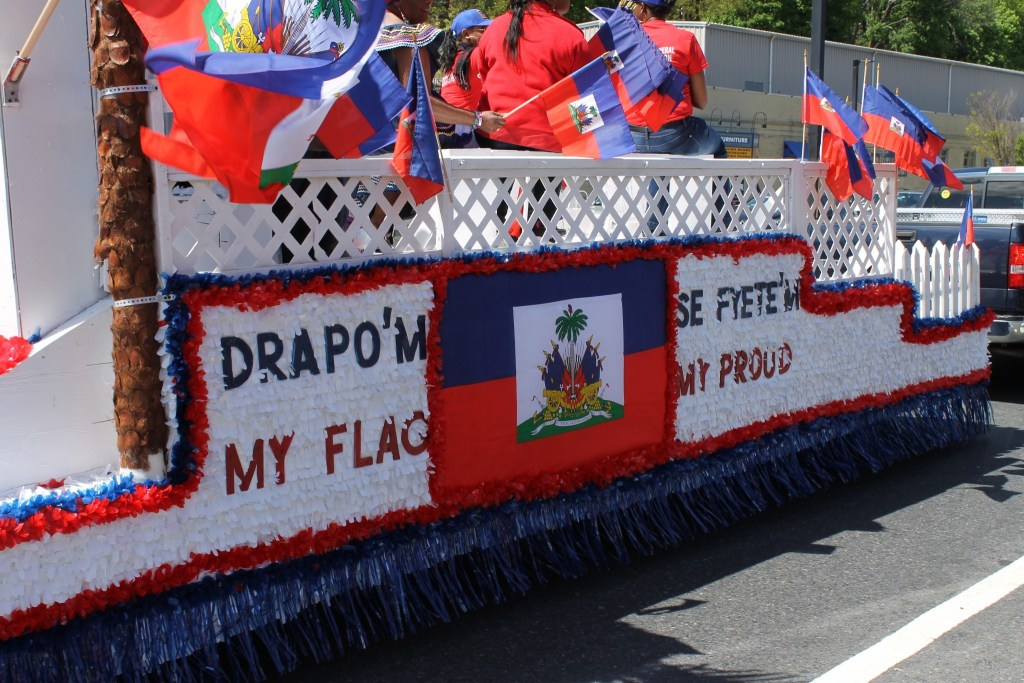 A Chilly Haitian Flag Day Parade in Boston