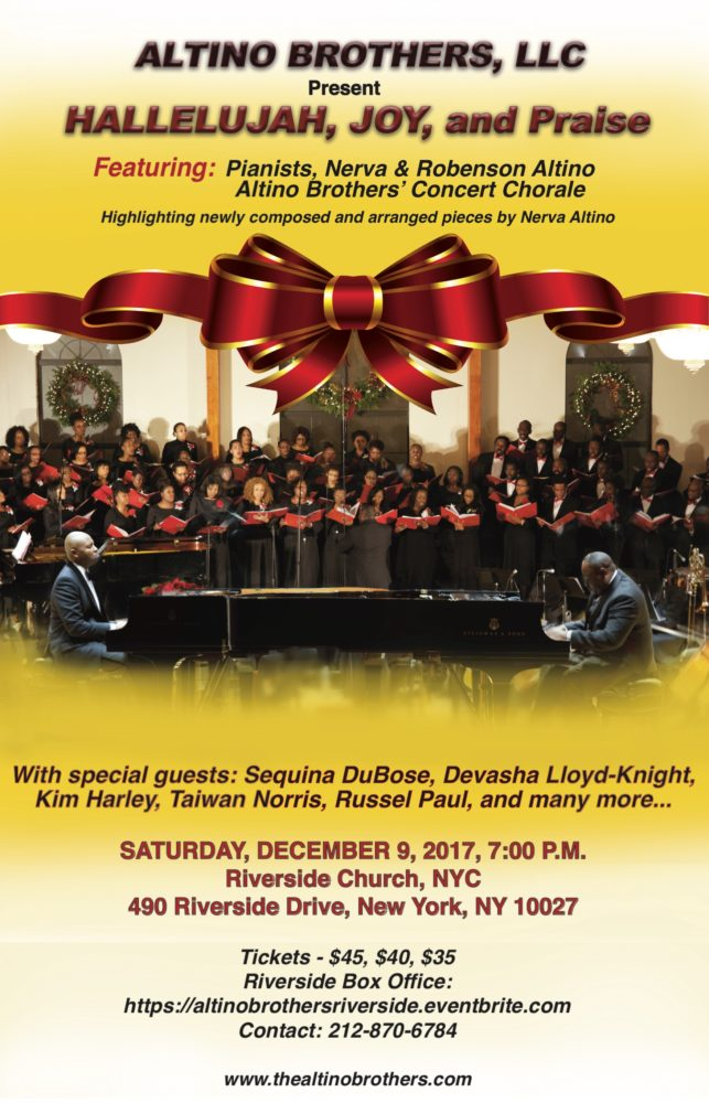 Haitian-American Classical Pianist Duo to Perform at Riverside Church