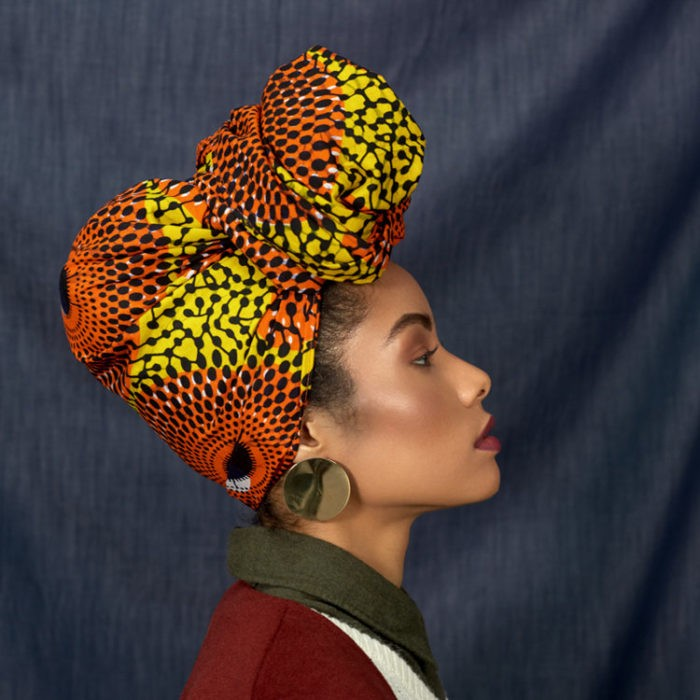 Fanm Djanm Sunburst Headwrap, $30 - Spice up any outfit with this bold yellow and orange printed headwrap. Add this piece to your wardrobe for the perfect finishing touch.