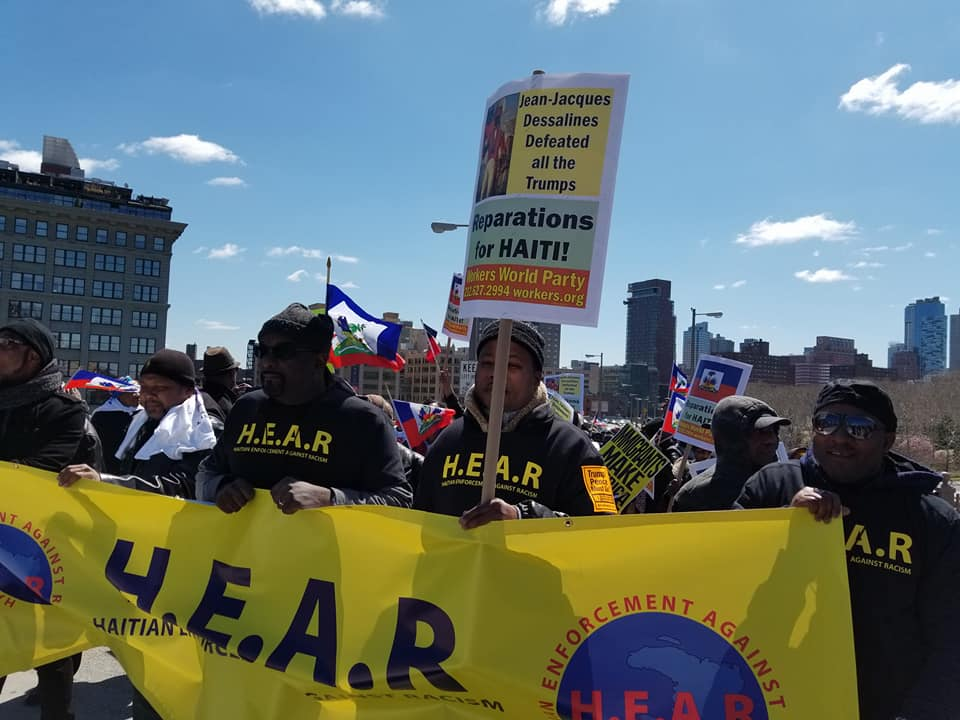 Haitian March Over Brooklyn Bridge Draws Disappointment Due to Competing Organizers
