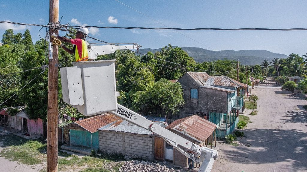 Construction of electricity grid project in Haiti to begin