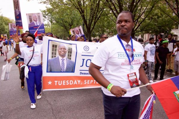 Josue Pierre Leads Pack In Race For District Leader